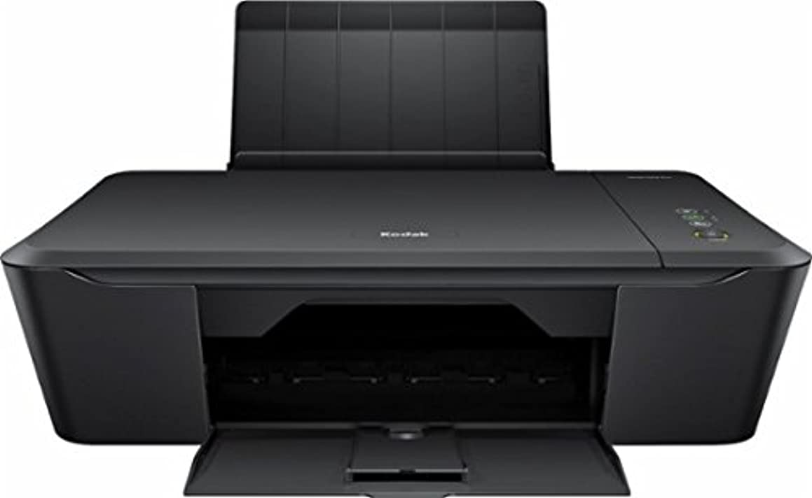 Kodak - Verite 55W Eco Wireless All-In-One Printer (Full Black and Color Ink in the Box)