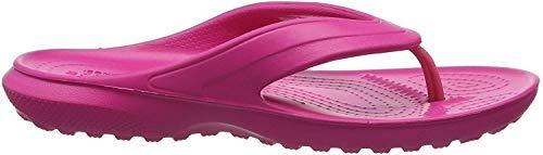 Crocs Unisex-Kinder Classic Flip Kids Zehentrenner, Rosa (Candy Pink), 32/33 EU (J1 UK)