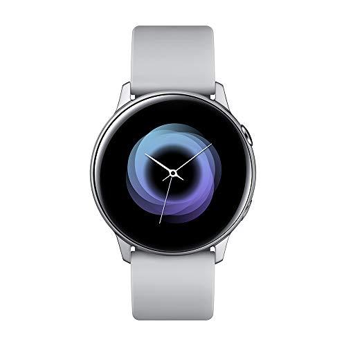 """Samsung Galaxy Watch Active Smartwatch Silber SAMOLED 2.79cm (1.1\"""") GPS (Satellite) Galaxy Watch Active, 2.79cm (1.1\""""), SAMOLED, Touchscreen, GPS (Satellit), 25g Silber"""
