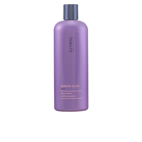 Clynol Keratin Sleek Silk Glättungsshampoo, 1er Pack, (1x 300 ml)
