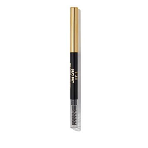Milani Stay Put Brow Sculpting Mechanical Pencil - Taupe (0.01 Ounce) Cruelty-Free Long-Lasting Eyebrow Pencil that Defines and Shapes Brows