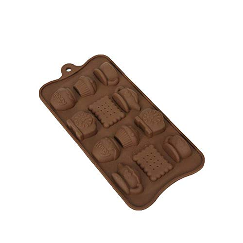 ZCC Teekanne Wecker Keks Schokoladenform Backform Kuchenmodell