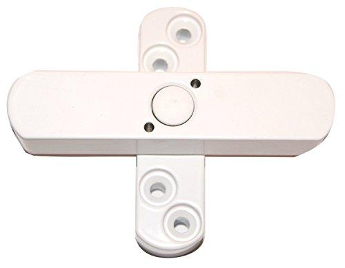 2 x Bever Stuco Safe Fenstersicherung, 2-flügelig, weiss, 21SW - DIN 18104 geprüft