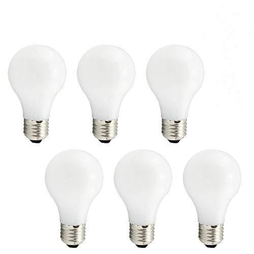 Svater Lampadina LED E27, Edison Vintage Stile Globe Bulb 8W, E27 Bianco Freddo 6000K Equivalente Incandescente 80W Lampadine, Angolo a 360 Gradi, Non Dimmerabile 6 Pezzi