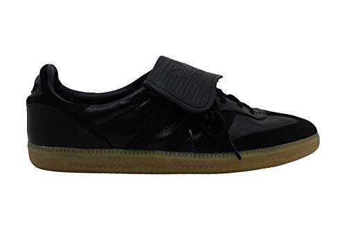 Adidas Samba Recon LT - Zapatillas de fútbol de Piel con Cordones para Hombre, Negro (Negro), 42.5 EU
