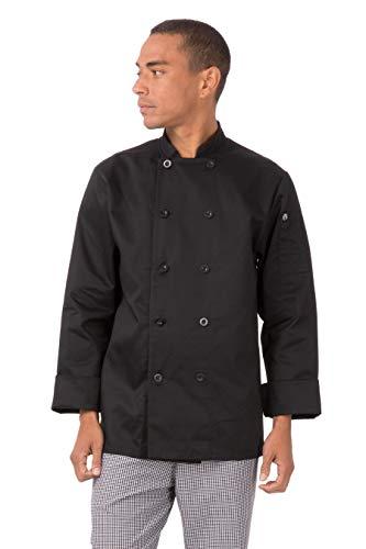 10最好的厨师外套长袖黑色2020