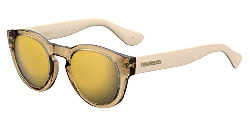 Havaianas Trancoso/M Sunglasses, Oro, 49mm Unisex-Adult