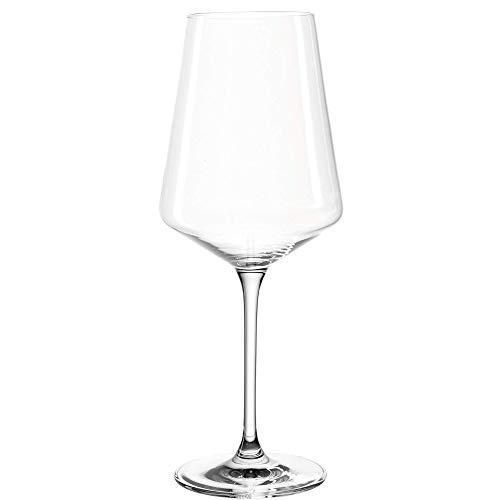 Leonardo Puccini Weißwein-Gläser, 6er Set, spülmaschinenfeste Wein-Gläser, Weisswein-Kelch mit gezogenem Stiel, Weinglas Set, 560 ml, 014789