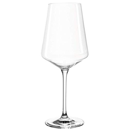 Leonardo Puccini Weißwein-Gläser, Weisswein-Kelch mit gezogenem Stiel, spülmaschinenfeste Wein-Gläser, 6er Set, 560 ml, 014789