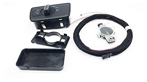 Piezas de automóvil Sensor de luz de cabeza de automóvil Sensores de lluvia y caja de sensor de cable Interruptor de faro apto para MQB Nuevo Passat B8 8UD / 8U0955559 3G0 941633
