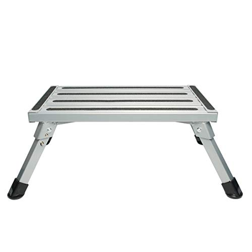 Aluminum Folding Platform Steps RV Step Stool