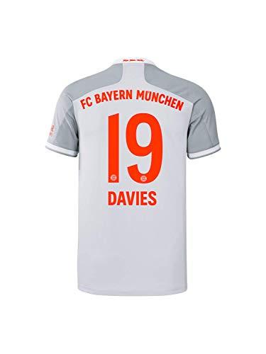 FC Bayern München Kinder Away-Trikot Auswärts Saison 2020/21, Gr. 176, Alphonso Davies