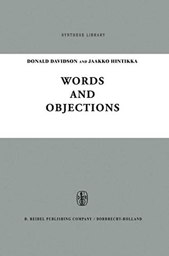 Words and Objections: Essays on the Work of W.V. Quine (Synthese Library)