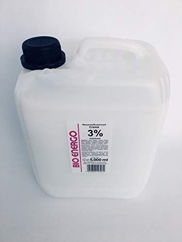 Bio Energo Creme Oxydant H2O2 5000 ml, 3 Prozent