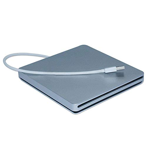 Unità CD esterna DVD Masterizzatore DVD portatile USB3.0 Slot DVD Unità CD adatta per computer desktop laptop supporto Windows2K / XP / 2003 / Vista / 7, Linux, Mac 10 OS
