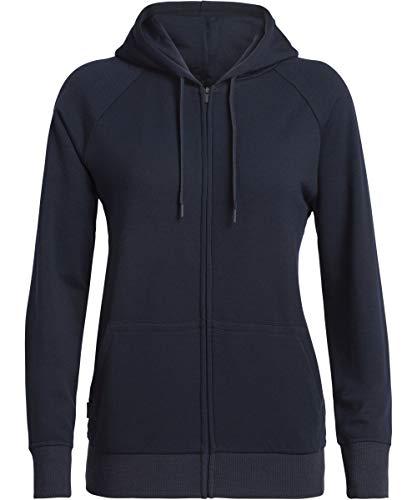 Icebreaker 200 Helliers Longsleeve Zip Hood Jacket Women - Fleecejacke