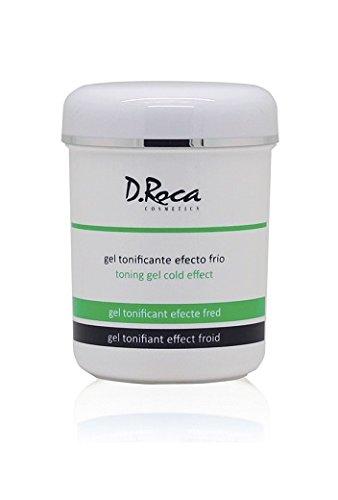 D. Roca Cosmetics - Gel tonificante efecto frío 500 ml