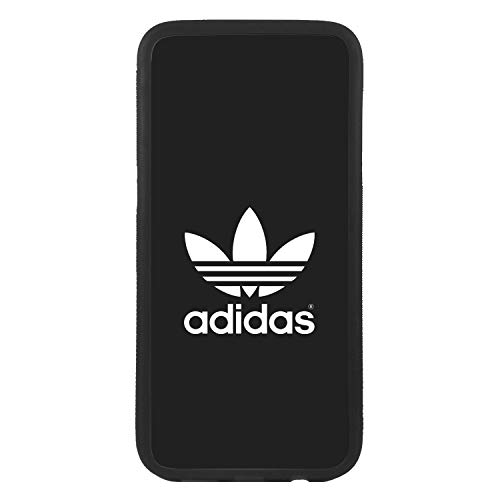 Funda Carcasa de móvil para Samsung Galaxy j7 (2016) Logotipo Adidas Logo Antiguo TPU Borde Negro