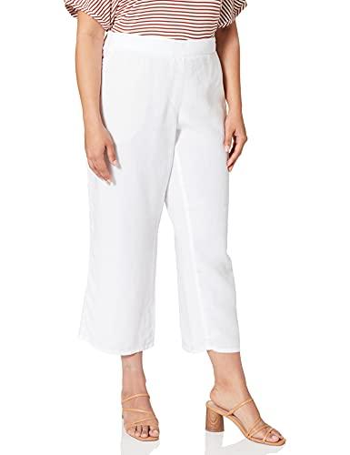 BRAX Damen Style Maine S Freizeithose, White, 46K