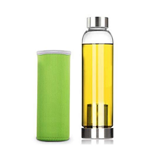 Botella De Té Con Colador, 18 Oz / 550 Ml Botella De...