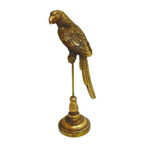Escultura Parrots Gold M