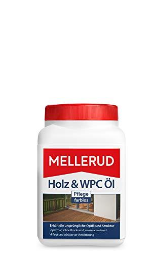 Mellerud 2001002640 Holz & WPC Holz und WPC Pflege-Öl farblos 750 ml