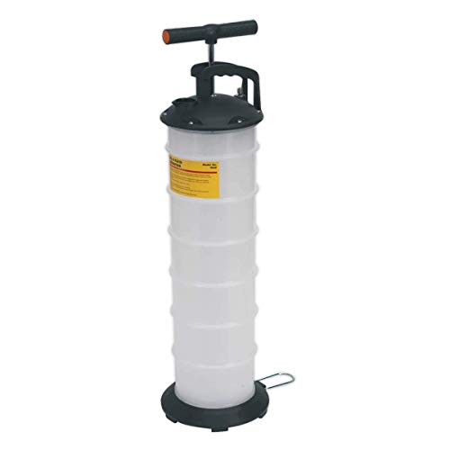 Sealey TP69 - Extractor manual de aceite de vacío y líquido (6,5 L)