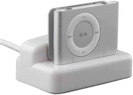 USB Charger Sync Docking Station Cradle for Apple iPod Shuffle 2GEN 3GEN Digital Audio Player product image