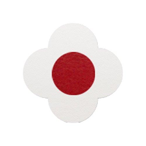 AMANOGAWA ブートニエール 132色 レザー 革 タックピン ラペルピン ブローチ ピンブローチ メンズ レディース 花 白 レッド 赤