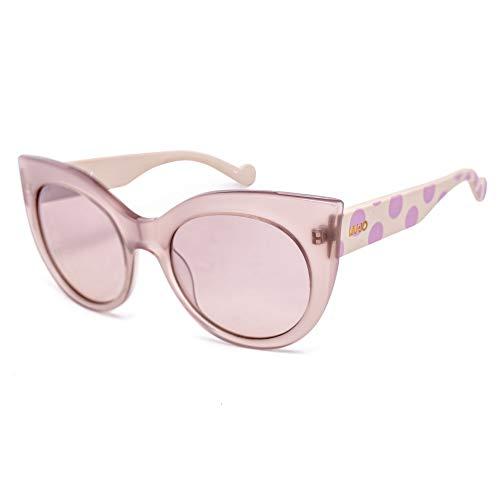 Liu-Jo LJ648S-264 Sunglasses, Rosa/Violeta Lunares, Tamaño: 55/20/135 Womens