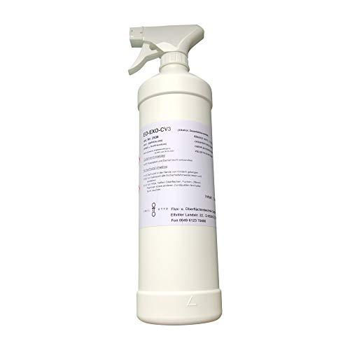 EO - EXO - CV3, hochkonzentriertes Ethanol. (>70%) mit Deionisiertem Wasser
