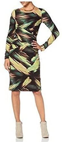 bruno banani Designer-Wickelkleid bunt Größe 46