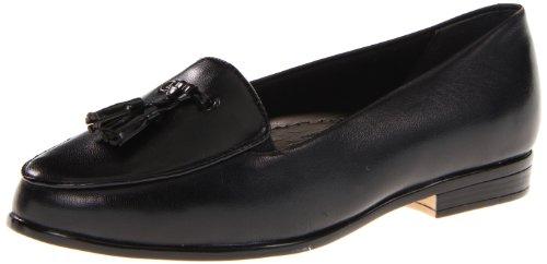 Trotters Women's Leana Loafer,Black/Black,10 W US