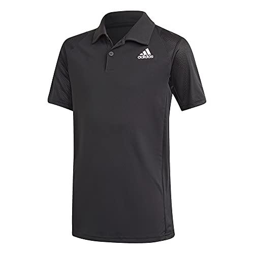 adidas unisex-child B Club Polo Black/White Medium