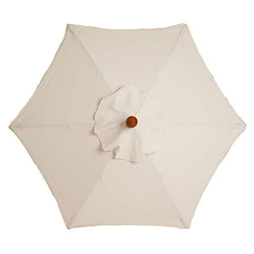 YYWJ Sonnenschirm-Überdachung, 1,8 m, Ersatzstoff, für den Garten, hält kühl