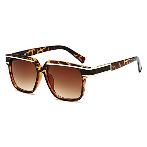 LUOXUEFEI Gafas De Sol Gafas De Sol Hombre Gafas De Sol Cuadradas Gafas De Mujer
