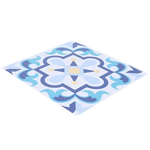 Adhesivo para azulejos, 10 piezas de pasta de pared de azulejos de cerámica para baño para dormitorio(BS104)