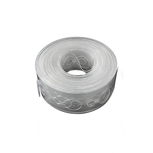 Xshuai® Ruban en plastique transparent pour ballons de 5 m pour fête de mariage, anniversaire Length: 5m claire