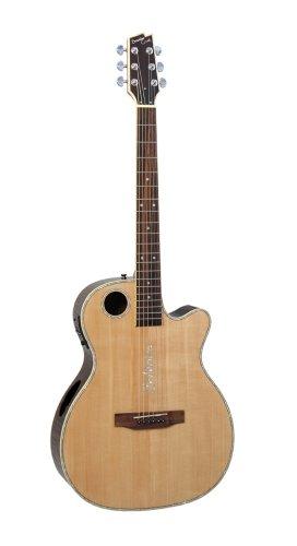 Boulder Creek ECRM2-N Vollkorpus Gitarre mit Suspended Bracing System
