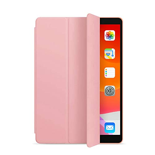 ZOYU iPad case 9.7 inch 2018/2017 Case with - Lightweight Soft TPU Back Cover with Auto Sleep/Wake, Protective for iPad 5th/6th Generation-Rose gold