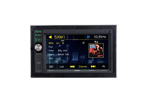 "Jensen VX3228 6.2"" Digital Multimedia Double DIN Car Stereo"