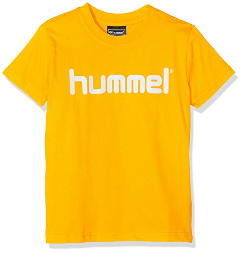 hummel Kinder HMLGO Kids Cotton Logo T-Shirts, Sports Gelb, 140