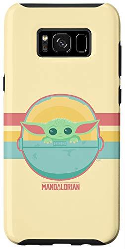 Galaxy S8+ Star Wars: The Mandalorian The Child Retro Rainbow Case