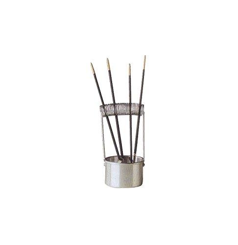 Cornici Paglia Lava pennelli in Metallo MyArte 9x20 cm - LAVAPENNELLI, Metallo, Diametro 9 CM - H 20 CM