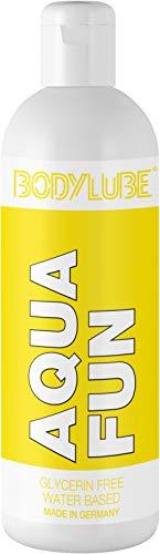 BODYLUBE® AQUA FUN | Gleitgel auf Wasserbasis ohne Glycerin | Premiumqualität (1000 ml)