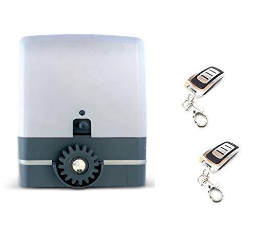 KIT Motor puerta cancela corredera VDS Simply 600kg, 220v, para automatizar puertas y cancelas correderas de uso residencial, parking, garaje, cochera, alta calidad con 2 mandos VDS ECO rolling code