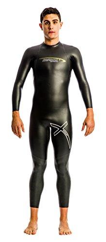Mako Xperience - Traje de Neopreno para Triatlón para hombre, color negro, talla M