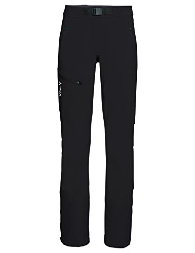 VAUDE Badile Winter Pantalon Femme Black Uni FR: M (Taille Fabricant: 40-Short)