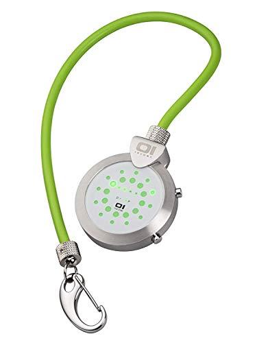 The ONE Unisex Erwachsene Binär Quarz Uhr mit Gummi Armband PR104GG