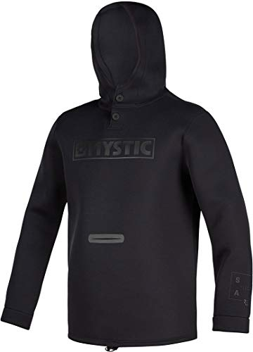 Mystic Watersports - Surf Kitesurf & Windsurfen Star Sweat 2mm Neopren Neoprenanzug Top - Schwarz - Unisex